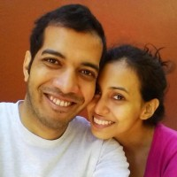 Siddharth and Shruti Prabhu from Mumbai