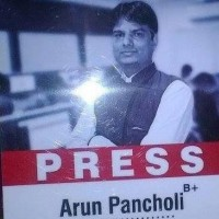 Arun Pancholi from Indore
