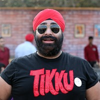Mister Tikku from New Delhi