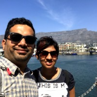 Sakshi and Deejay from Singapore