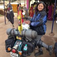 Urvashi Patole (Alpha Bikerni) from Pune
