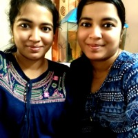 Swati Sarangi and Sweta Sarangi from Bhubaneswar