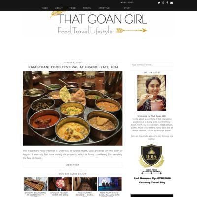 That Goan Girl