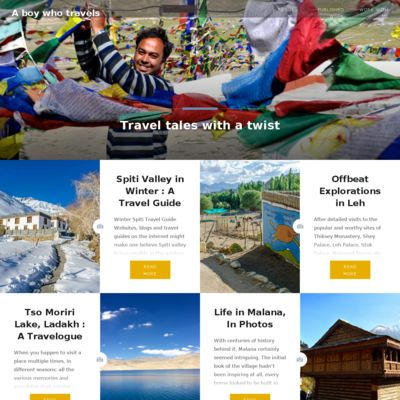A Boy Who Travels - Travel Tales with a Twist