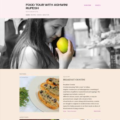 Food Tour With Ashwini Rupesh