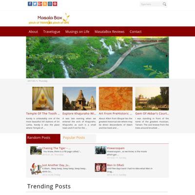 Masala Box - pinch of Travel & pinch of Life