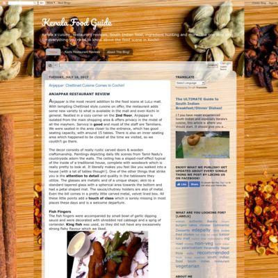 Kerala Food Guide