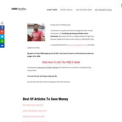 Simple Personal Finance Management