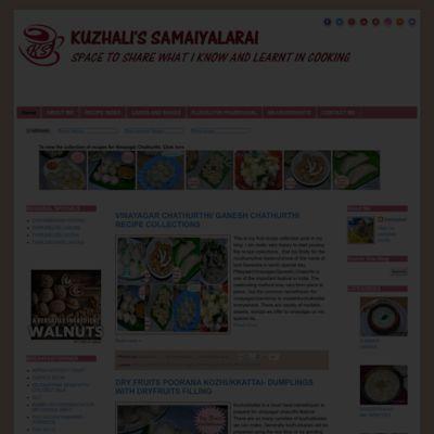 Kuzhali's Samaiyalarai