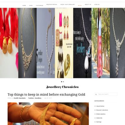 Gehna - Inspired Indian Jewellery