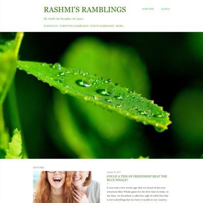 Rashmi's Ramblings