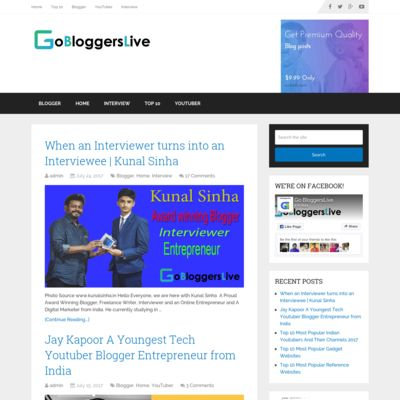 Go Bloggers Live