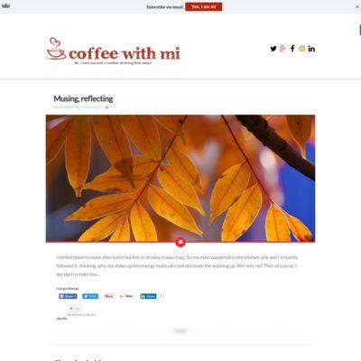 Coffee With Mi!