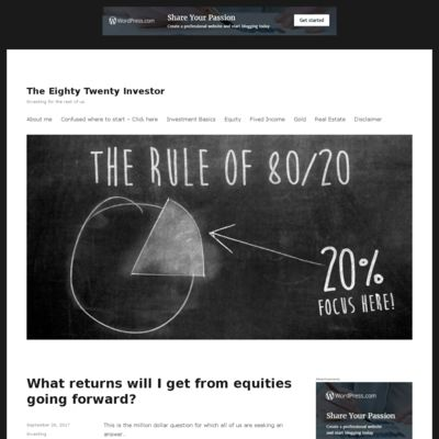 The Eighty Twenty Investor
