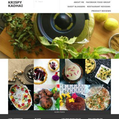 Krispy Kadhai - Let the food talk!