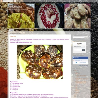kitchen katta - Indian vegetarian recipes and more