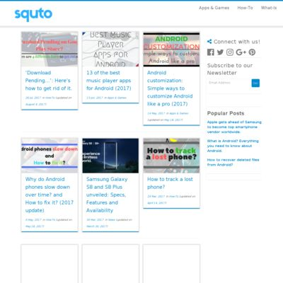 Squto - The Smartphone Resource