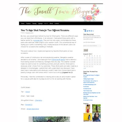 The Small Town Blogger