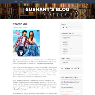 Sushant's Blog