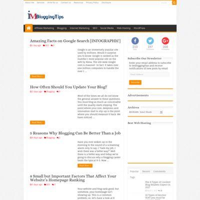Imbloggingtips- Internet Marketing Blog