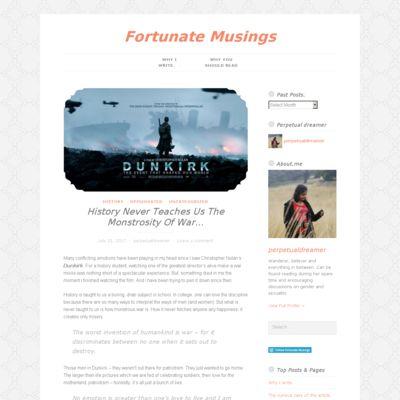 Fortunate Musings