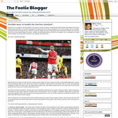The Footie Blogger