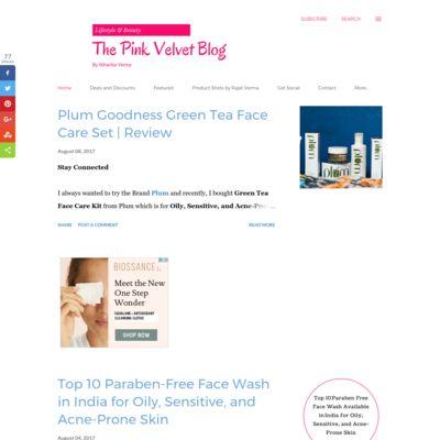 The Pink Velvet Blog