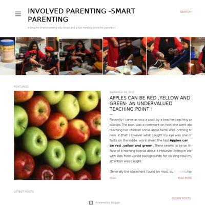 Involved Parenting-Smart Parenting
