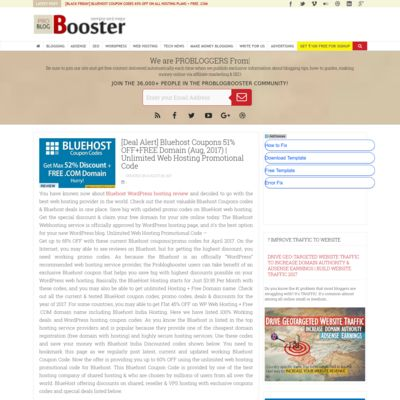 ProBlogBooster - For Bloggers, By ProBloggers