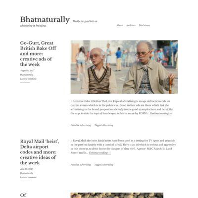 Bhatnaturally