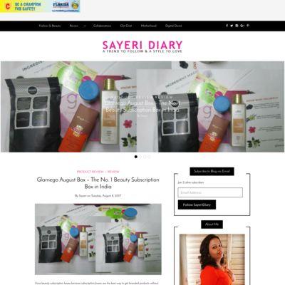 Sayeri Diary