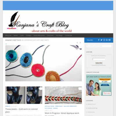 Ranjana's Craft Blog