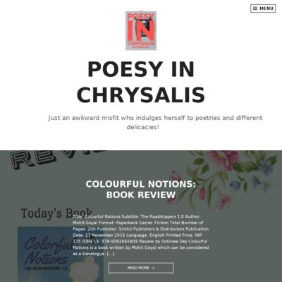 Poesy In Chrysalis