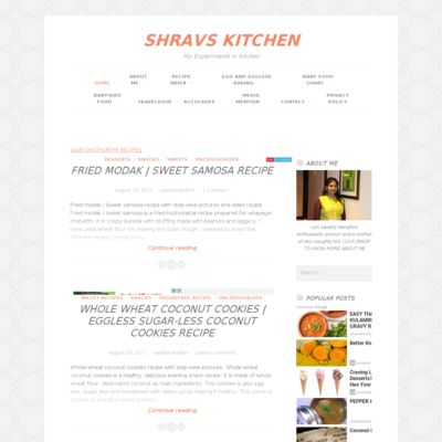 Shravs Kitchen
