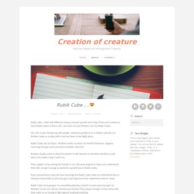 Creation of Creature