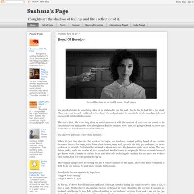 Sushmas Page