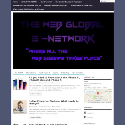 The Web Global