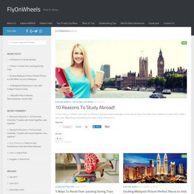 Fly On wheels (Travel Blog)