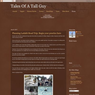TALES OF A TALL GUY
