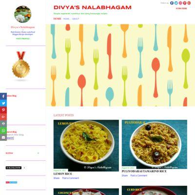 Divya's Nalabhagam