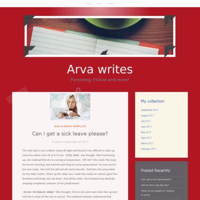 Arva writes