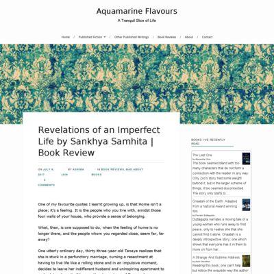 Aquamarine Flavours