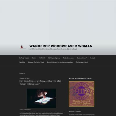 Wanderer Wordweaver Woman
