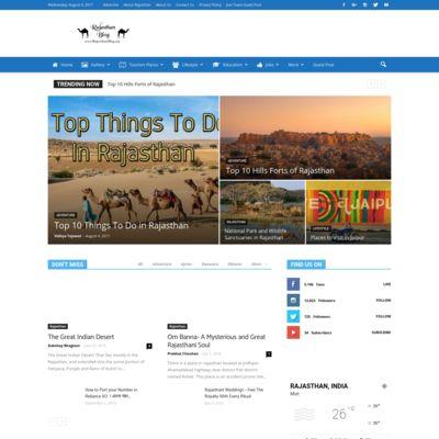 RajasthanBlog- Everything About Rajasthan