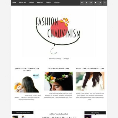 Fashion Chauvinism