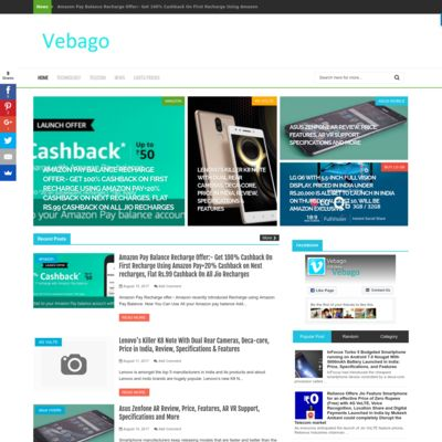 Vebago | Latest Technology News and Updates Today - Tricks, New Gadgets, Reviews and Mobile News