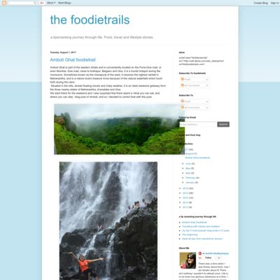 the foodietrails