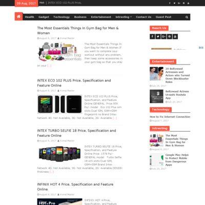 Latest Health, Gadget, Technology, Business, Entertainment, Fashion Blog.