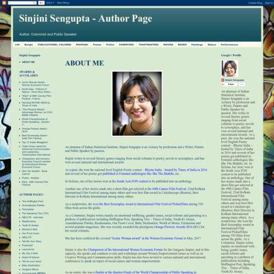 Sinjini's Blog - Poems, Prayers and Promises