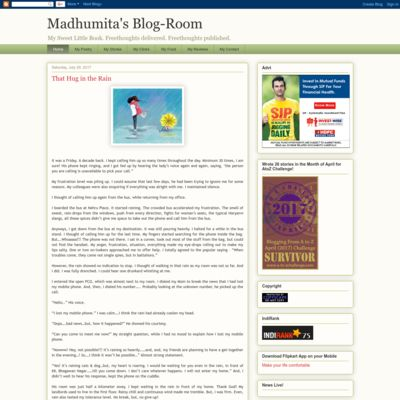 Madhumita's Blog Room